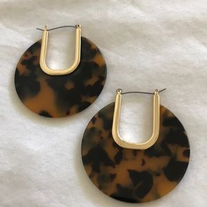 Tortoise Shell Earrings | Never Worn